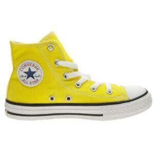 all star converse gialle bambino