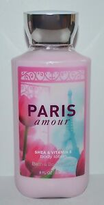 NEW-BATH-amp-BODY-WORKS-PARIS-AMOUR-LOTION-CREAM-SIGNATURE-SHEA-VITAMIN-E-8-OZ