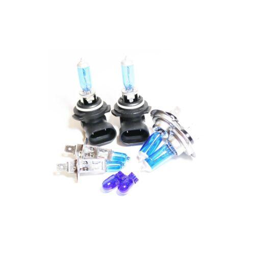 Renault Scenic MK1 55w ICE Blue Xenon HID High//Low//Side Headlight Bulbs Set