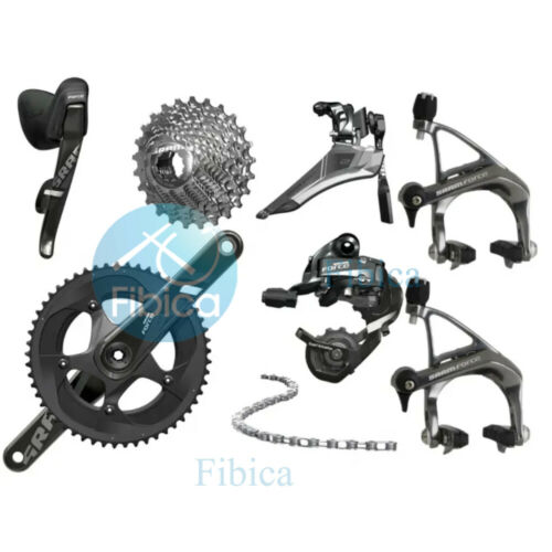 New SRAM Force 22 Road Carbon Full Group Groupset 2x11-speed
