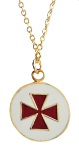 Knights templar cross patte round masonic freemasonry pendant ebay image is loading knights templar cross pattee round masonic freemasonry pendant aloadofball Image collections