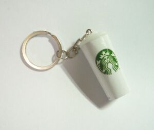 "STARBUCKS COFFEE Cup with Cover FRIDGE MAGNET Novelty Indonesia 3D 1.5/"" Acrylic"