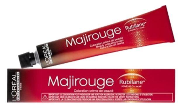 Coloration cheveux Majirouge l'Oréal N° 5.20 Châtain clair violine intense 50 ml
