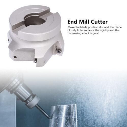80mm Milling Cutter End Mill Cutter BAP400R-80-27-6T High Carbon Steel