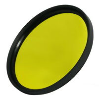 82mm Full Yellow  Color Conversion Lens Filter Screw Mount for DSLR Camera M82