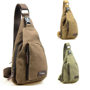 Mens-Canvas-Military-Messenger-Shoulder-Travel-Hiking-Fanny-Bag-Backpack