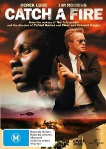 Catch-a-Fire-DVD-2007-Tim-Robbins-R4-LIKE-NEW