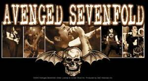 AVENGED-SEVENFOLD-Bat-Photo-Vinyl-Sticker-NEW