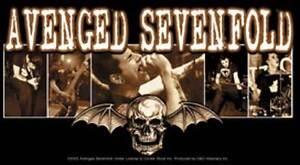 AVENGED-SEVENFOLD-Bat-Photo-Vinyl-Sticker-NEW