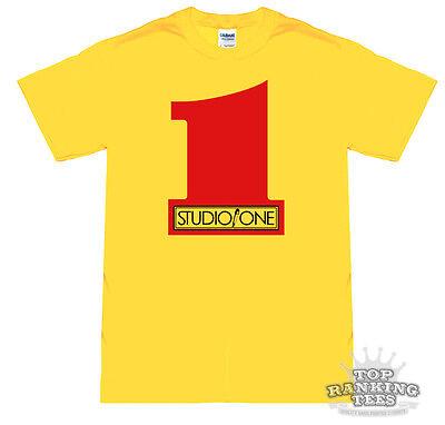 STUDIO ONE RECORDS T-Shirt ALL SIZES (Reggae SKA Jah DUB Dancehall 1 ROCKSTEADY