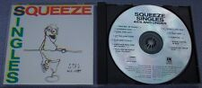 SQUEEZE Singles 45's and Under USA CD Jools Holland New Wave Power Pop