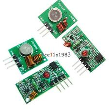 15pcs 315433 Mhz Rf Transmitter And Receiver Module Arduino Wireless Remote