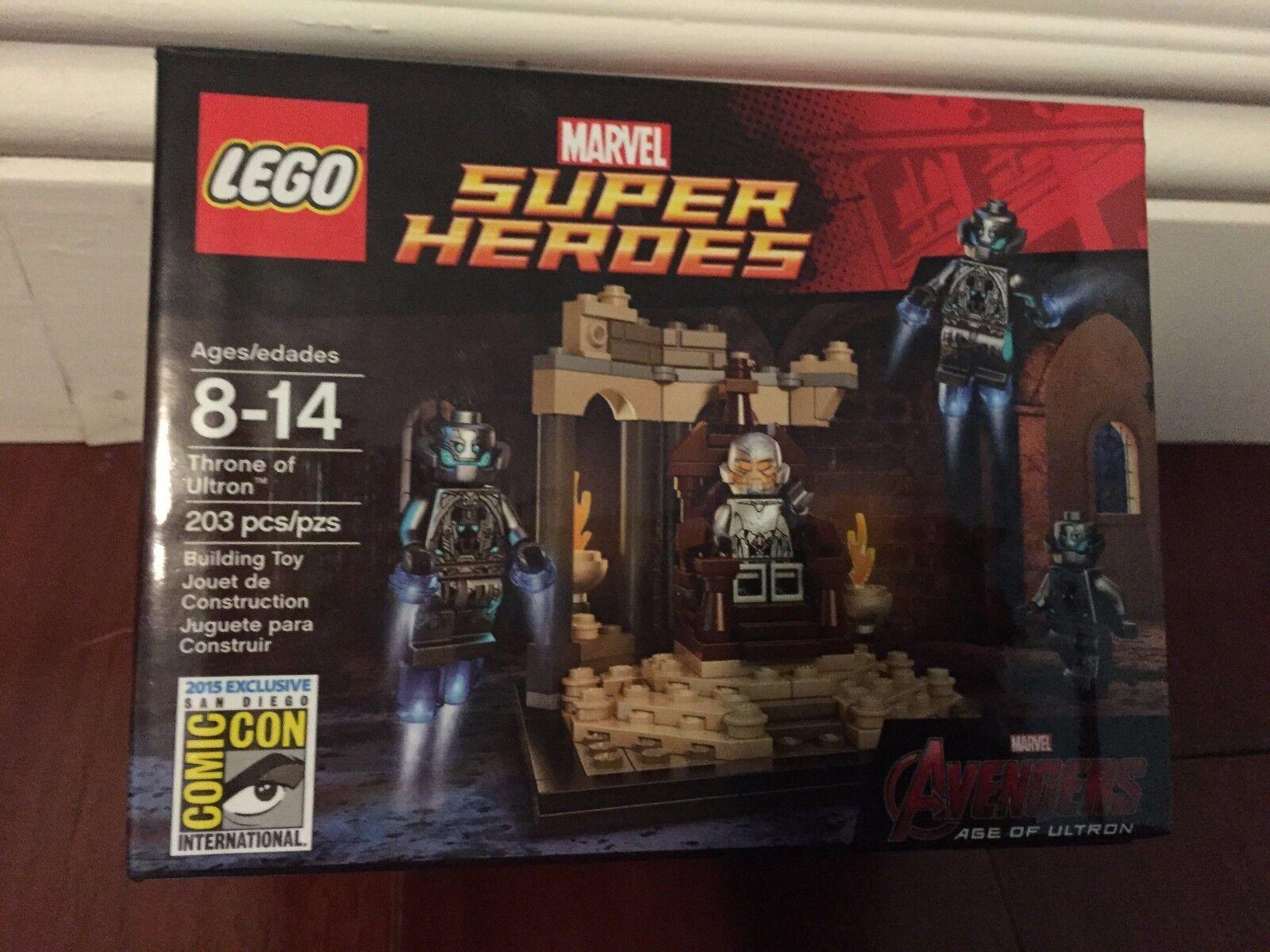 Sdcc 2015 Lego Trono De Ultron Exclusiva Marvel Super Heroes-Nuevo