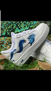 Humanista creencia pasar por alto  Nike Air Force 1 Personalised A Mano Side Outer | eBay