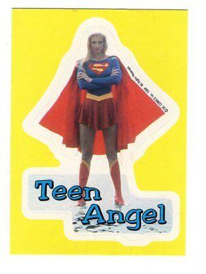 DC Comic VINTAGE 1980/'s SUPERGIRL STICKER TRADING CARD Locker g Skateboard