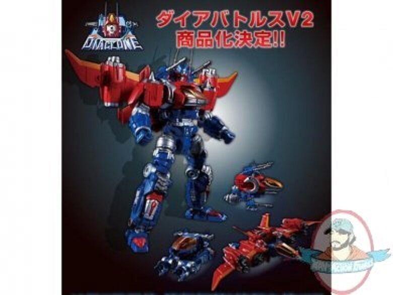 promocionales de incentivo Transformers Transformers Transformers Diaclone reinicio Dia-batallas V2 figura por Takara  el precio más bajo