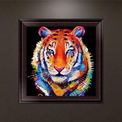 Tiger DIY 5D Diamond Embroidery Painting Cross Stitch Art Craft Home Decoration