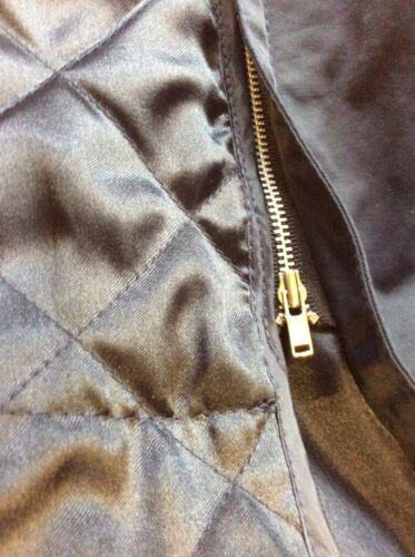 Viyella faux M voering maat Lange bontkraag met en Marineblauw afneembare jas FwqRF7