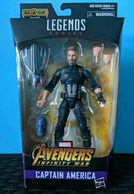 In Stock! Marvel Legends Infinity War Thanos Wave 3 Captain America NEW IN Box