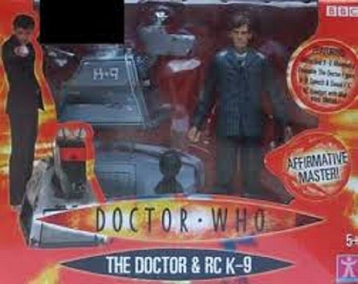 Doctor Who The Doctor Pinstripped Suit & R C K-9 5 inch Tall Doctor Who and a...