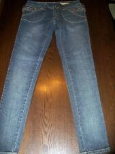 Chor Size 0 Hot Topic Premium Denim Skinny Jeans unique ZIPPER accents New JR 0
