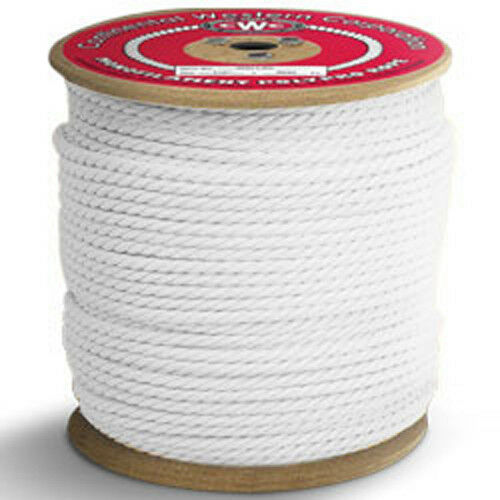 CWC 3-Strand Polypropylene Rope - 1 4   x 1200 ft., White  the best selection of