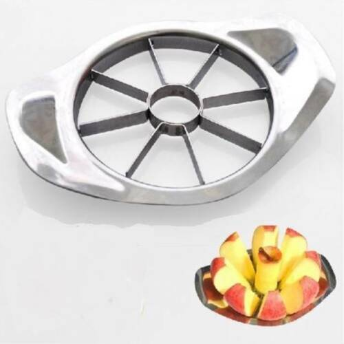 Slices into 8 even segments Apple Slicer Stainless Steel Apple Corer