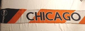 Chicago-Winter-Scarf-NFL-Bears-Colors-Dell-Software-New-Unique