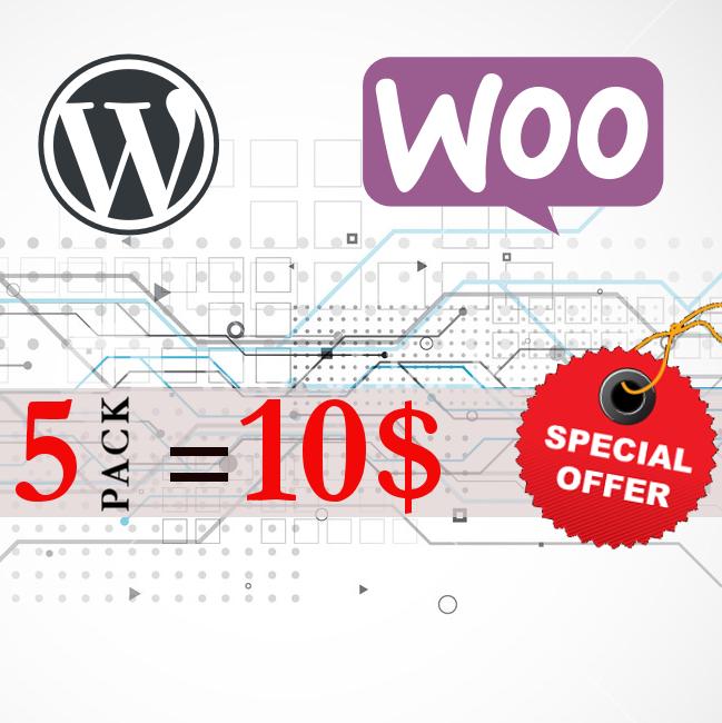 Premium Wordpress Woocommerce plugins and themes - Lifetime Free Updates - 2