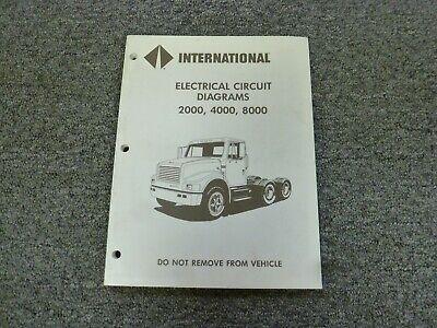 1994 International 2554 2574 2654 2674, International Truck Wiring Diagram