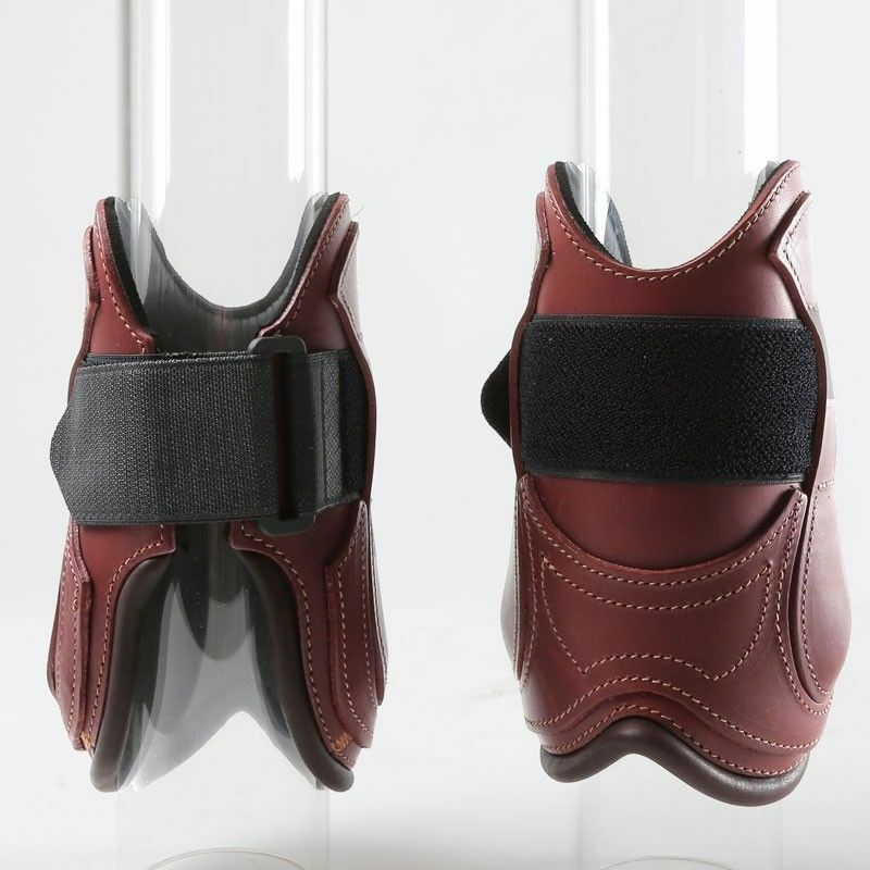 Devoucoux Polo projoectores Menudillo botas De Neopreno Tamaño Mediano (2) Marrón Oscuro
