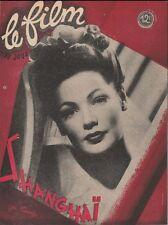 Film du Jour N° 116/1948 - Shanghaï/The Shanghai Gesture, G. Tierney V. Mature