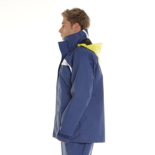 Burke Dry 28 Super Dry Rain Jacket Sailing Wet Weather Jacket Blue DW10 Fabric