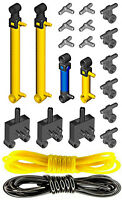 Lego Pneumatic Kit 3 (cylinder,mini,pump,tube,hose,switch,valve,piston,air,tank)