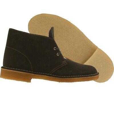 $139.99 Clarks Men Desert Boot olive loden green suede 26109443