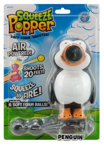 Penguin Spremere Popper Morbida Schiuma Palla TIRATORE-Hog Wild Cheatwell Games