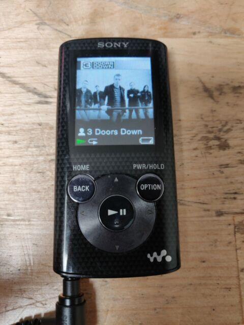 Sony Walkman NWZ-E383 Black (4 GB) Digital Media Player | eBay