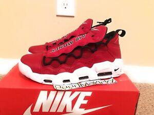Nike Air More Money Gym Red Black White