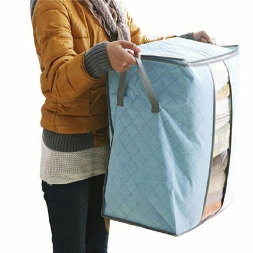 Hot Big Capacity Dust-Proof Clothes Storage Bag Clothing Pillow Quilt Organizer