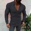 US-New-Men-Fashion-Luxury-Casual-Stylish-Slim-Fit-Long-Sleeve-Dress-Shirts thumbnail 9