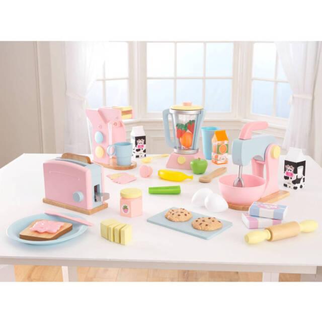 KidKraft Pastel Play Kitchen Accessories 4pk * Brand New Kid Kraft Four  Pack WOW