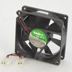Nidec BETA V TA300DC M33412-16 12V DC Fan 0.15A 80mm x 80mm x 25mm OL0331a