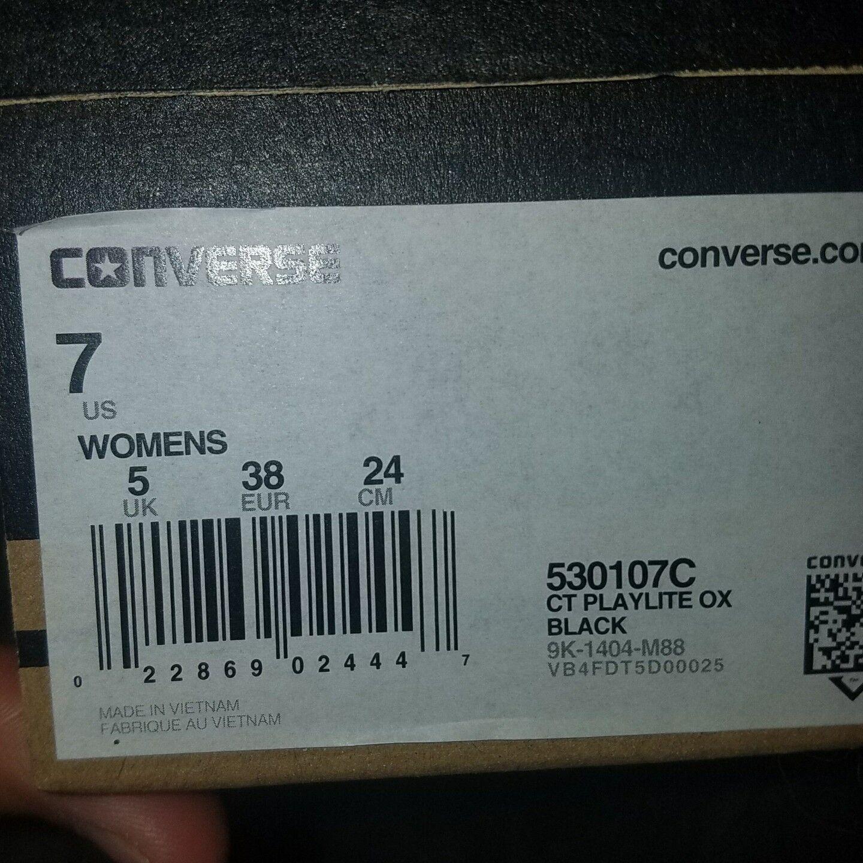Converse Converse Converse All star ct playlite ox womens 7 nib distressed style d96eb2