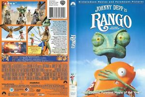 Rango 2011 Dvd 107 Mins Comedy Widescreen Ebay
