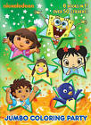 Jumbo Coloring Pary by Golden Books (Paperback / softback, 2017)