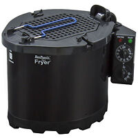 Ron Popeil's 5-in-1 Cooking System and Turkey Fryer (Black)