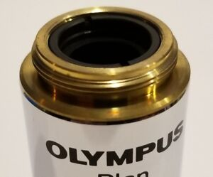 Olympus-Plan-10x-0-25-Microscope-Objective-Lens-New-in-box-Last-one-Guaranteed