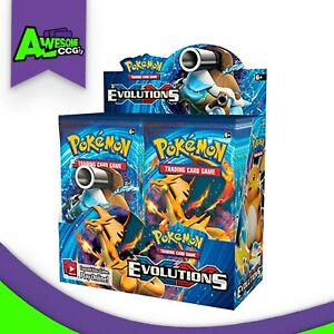 Pokemon-TCG-2016-XY12-Factory-Sealed-Evolutions-Booster-Box-36-Booster-Packs