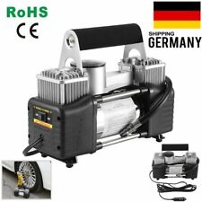 Auto KFZ Luftkompressor Hochleistungs Kompressor Luftpumpe 12V 150PSI 3 Adapter