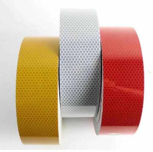 New Yellow High Intensity Reflective Tape Vinyl Self-Adhesive 150mm×1 Meter